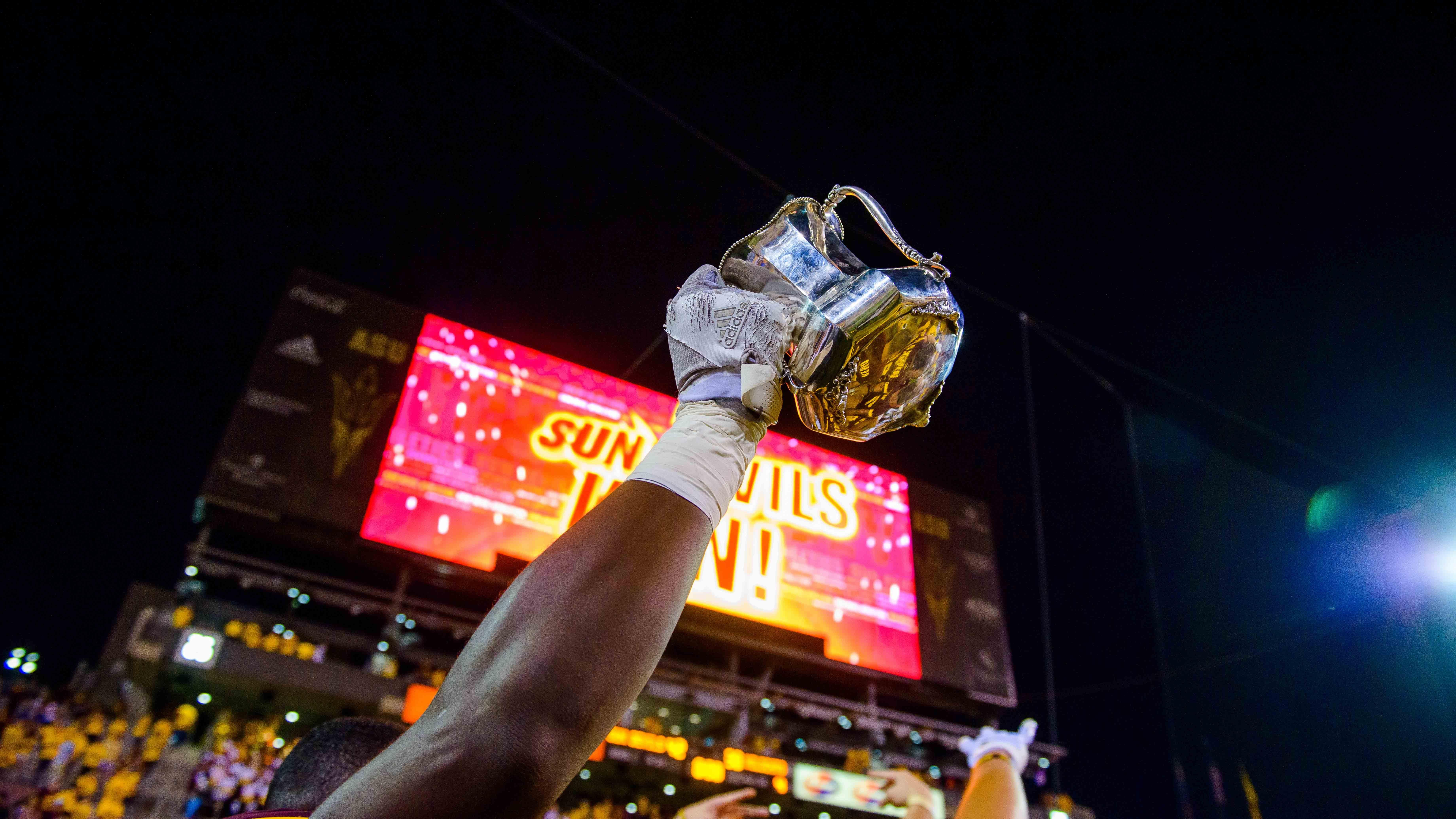 2018 Sun Devils win the Territorial Cup against U of A Wildcats